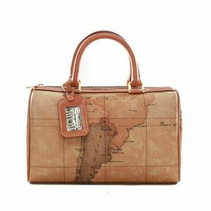 Alviero Martini Classe 2 way brown Boston shoulder